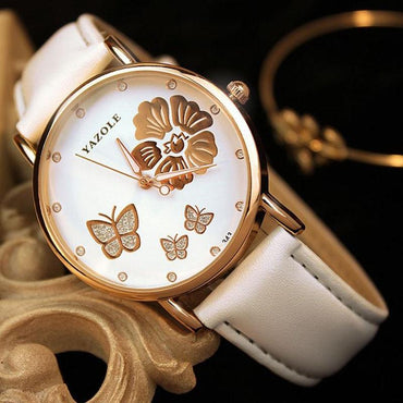 Butterfly Ladies Watch Luxury Watches