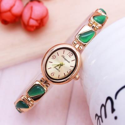 Fashion luxury watches rose gold ultra-thin bracelet watch