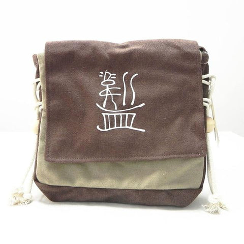 Canvas Crossbody Vintage Dongba Character Yunnan Ethnic Bag