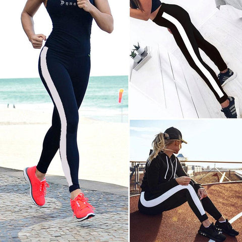 Running Yoga Fitness side line Legging
