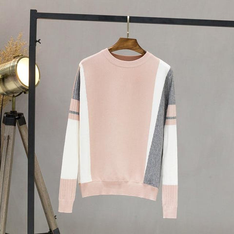 Simple Basic Knitting Pullovers Sweaters