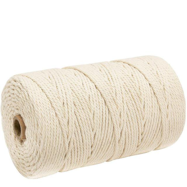 3mm x 200m Macrame Cotton for Handmade