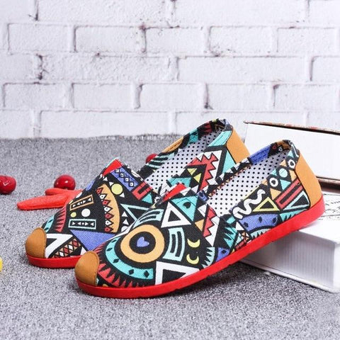 ballerina flats casual  espadrilles  Loafers Canvas Comfort Shoes