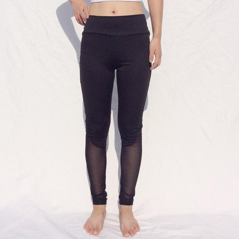 Fitness Gym Mesh Yoga Running Tights Pant