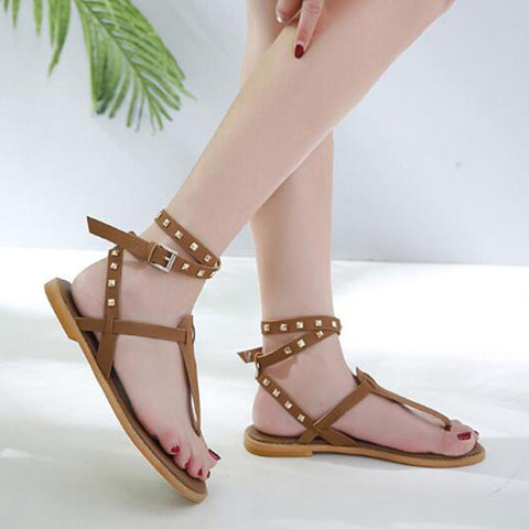 Casual simple beach shoes fashion boho style women shoes