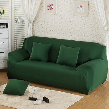 Solid colors stretch seat couch sofa cover