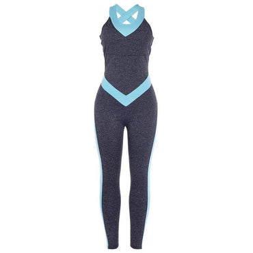Siamese Tracksuit Sexy Ensemble Sportswear Jumpsuits