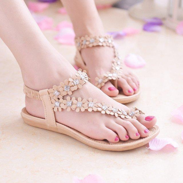 Hohner Nude Closed Toe Sandals Boho Jelly Sandals