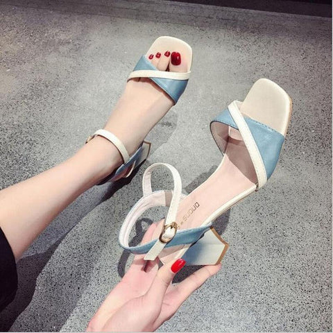 Flat Fashion  Flowers Boho Sandals