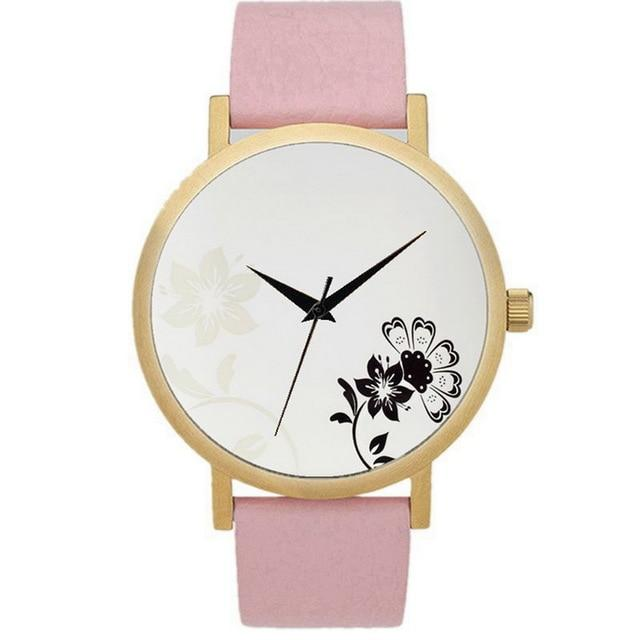 Fashion Bohemian Hand-Painted Marble Watch