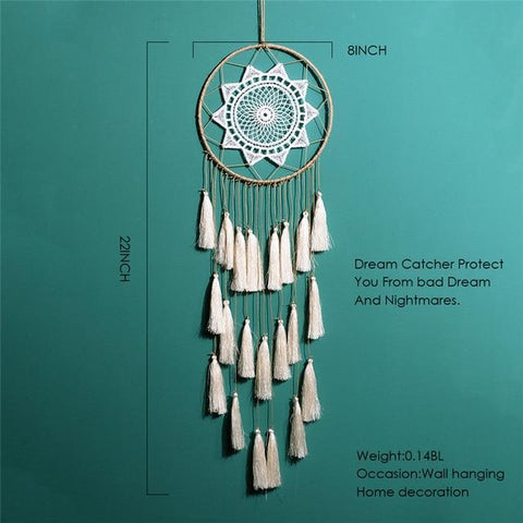 tassel handmade decoration dream catcher