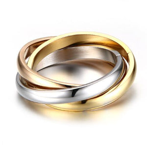 3 Rounds Ring Sets For Women