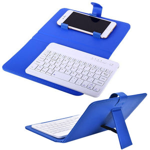 PU Leather Wireless Keyboard Case