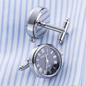 Real Watch Cufflinks for Men