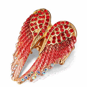 Angel Wings Stretch Ring