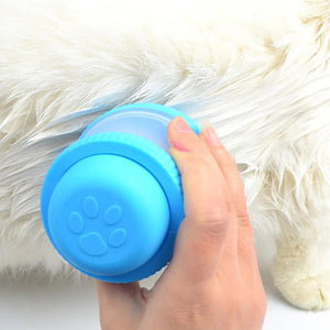 Comfortable Silicone Brush for Grooming