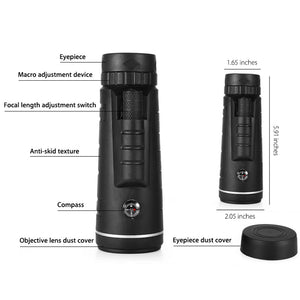 Lens for Smartphone with Compass