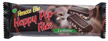 "BIO ""Amore Bio"" Happy Pop-Rice Zartbitterschokolade 50g"