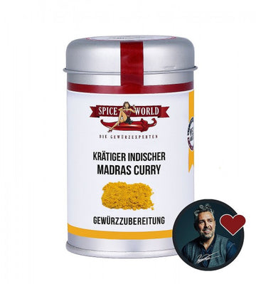 Madras Curry 90g Streudose