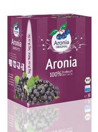 BIO Aroniasaft (100% Direktsaft), 3 Liter Bag in Box