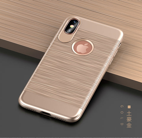iPhone X: Back Cover (Square) TPU phone case
