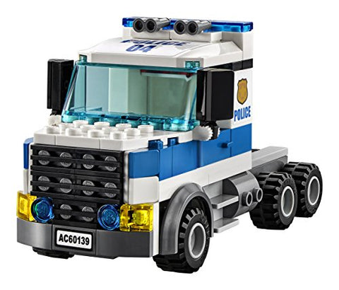 LEGO City Police Mobile Command Center Truck 60139 Building Toy, Action Cop Motorbike and ATV Play Set for Boys and Girls aged 6 to 12 (374 Pieces)