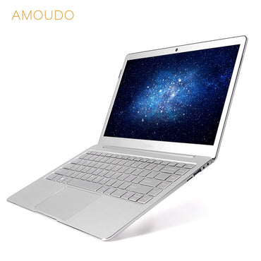 13.3inch Ultrathin All Metal Laptop Intel Quad Core CPU 8GB RAM Windows 10 Pro 1920*1080P Full HD Ultrabook Notebook Computer