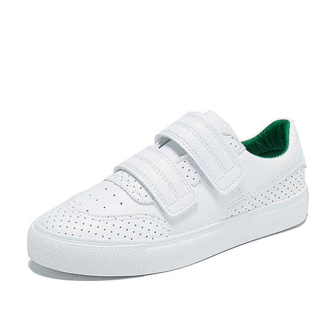 HOT Women Sneakers Fashion Breathble Vulcanized Shoes Pu leather Platform Lace up Casual White Tenis Feminino Zapatos De Mujer 9