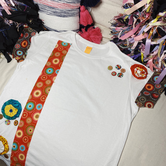 L317 (White Clouds) Tshirt Large