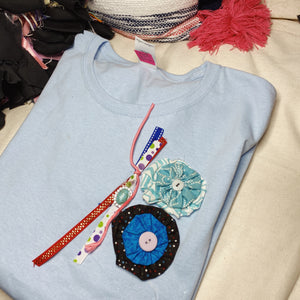 L320 (Baby Blue) Tshirt Large