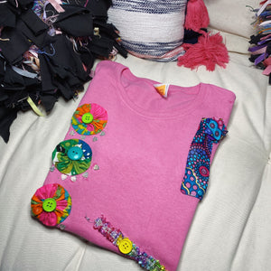 S121  (Cotton Candy 2)  Tshirt Small