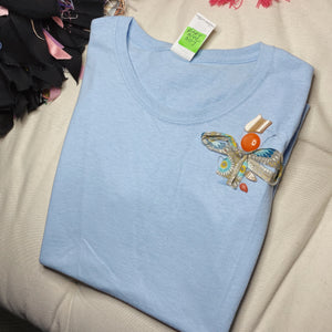 S117  (Babyblues)  Tshirt Small