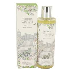 White Jasmine Shower Gel By Woods of Windsor - Perfumele