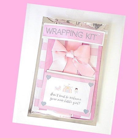 Baby Girl Gift Wrapping