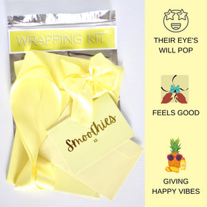 Happy Vibes Birthday Gift Wrap