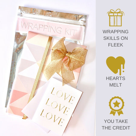 Fabulously Chic Birthday Gift Wrapping