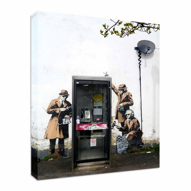 Banksy vs GCHQ Spies
