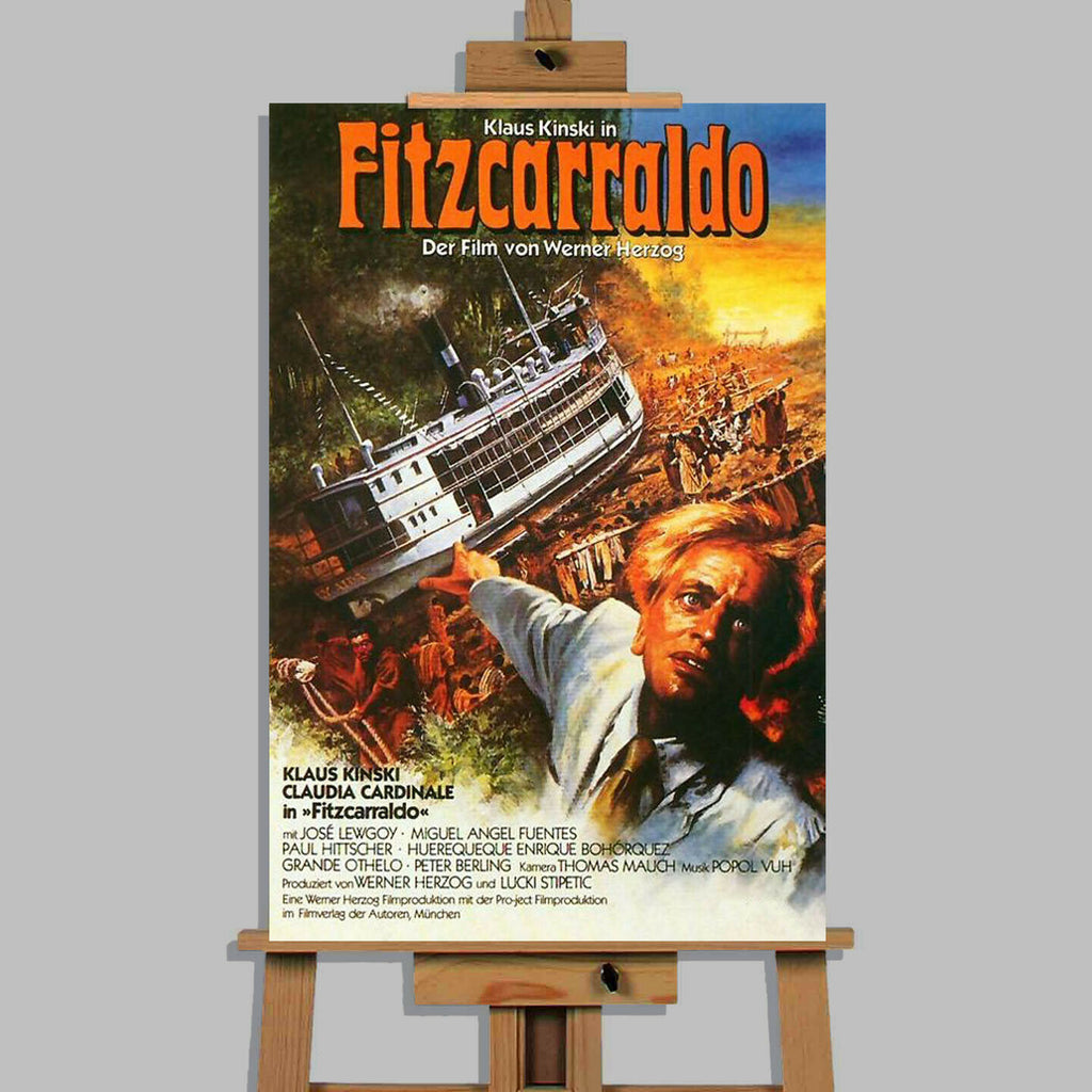Fitzcarraldo Movie Canvas Wall Art Picture Print
