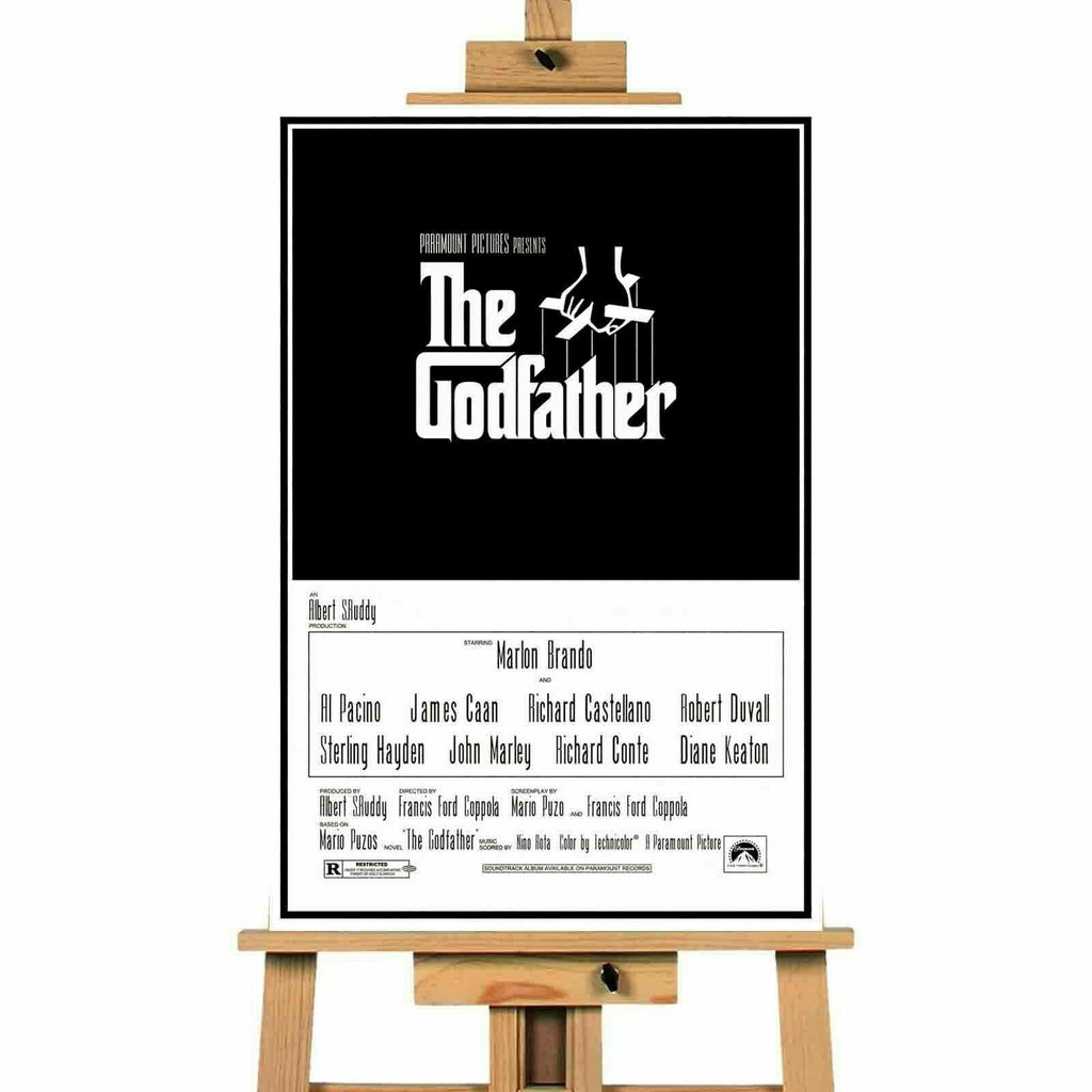 The Godfather Movie Canvas  Print Wall Art