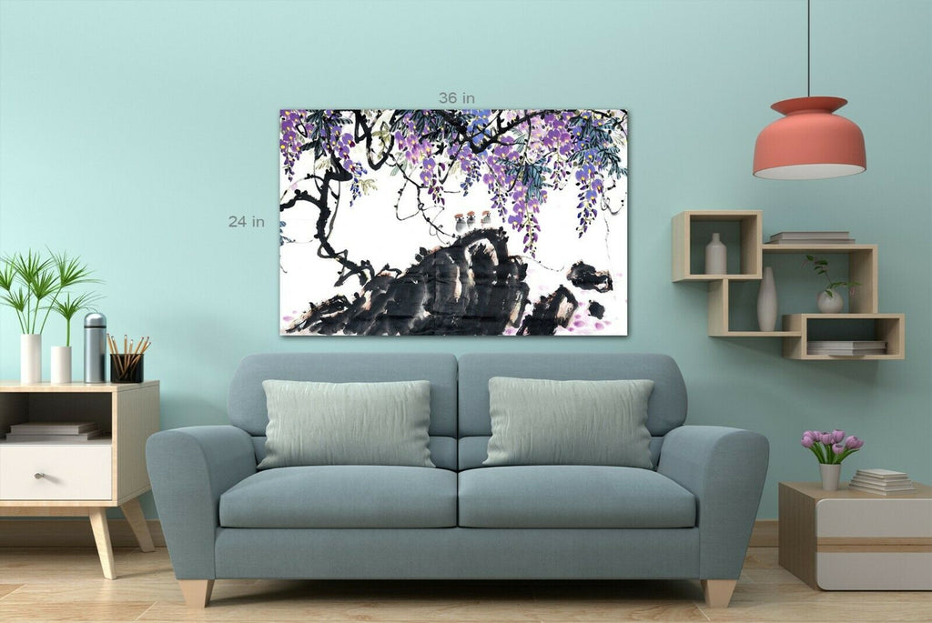 Traditional Chinese Paintings Canvas Wall Art Picture Print