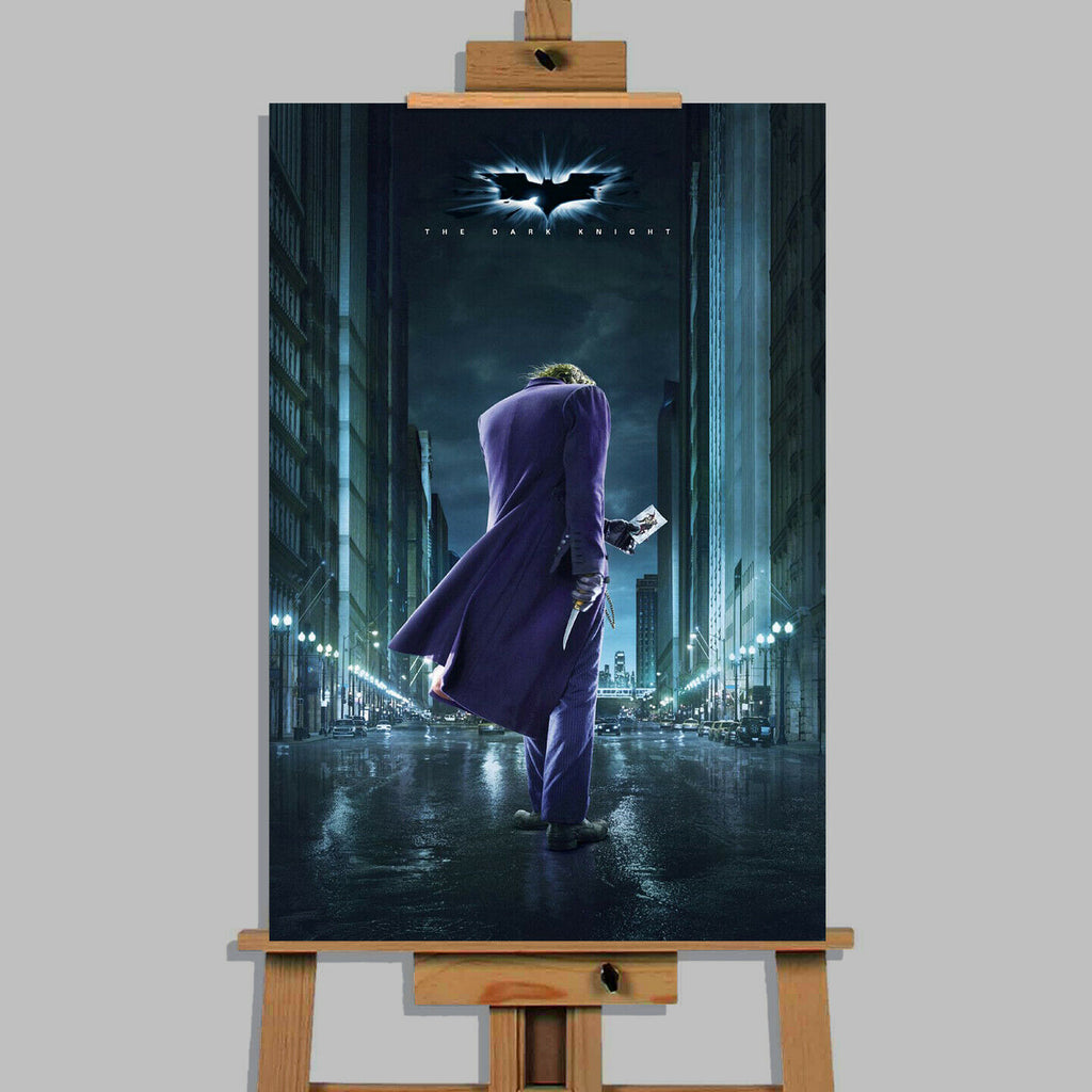 Dark Knight Movie  Canvas Print Wall Art