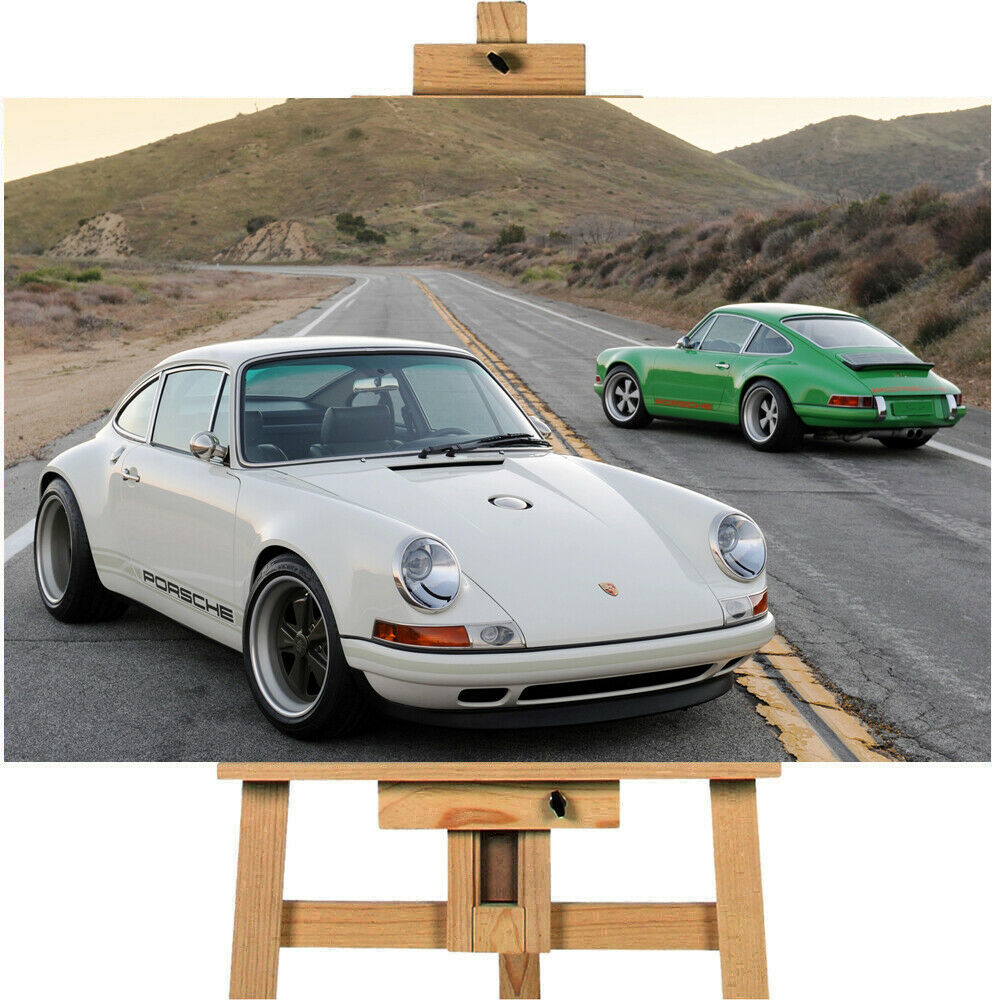 Porsche Singer 911 Canvas Wall Art Picture Print