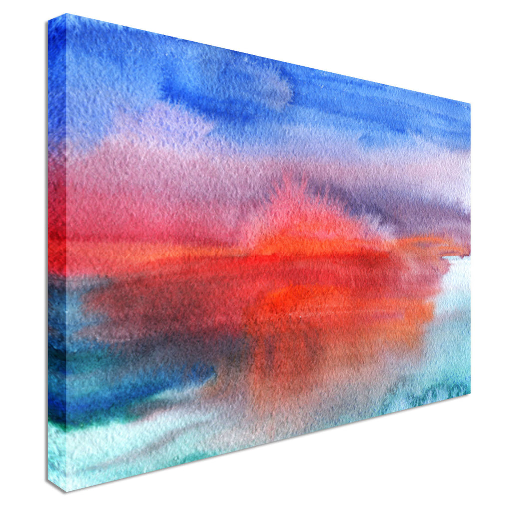 Artistic sunset Canvas Wall Art Picture Print