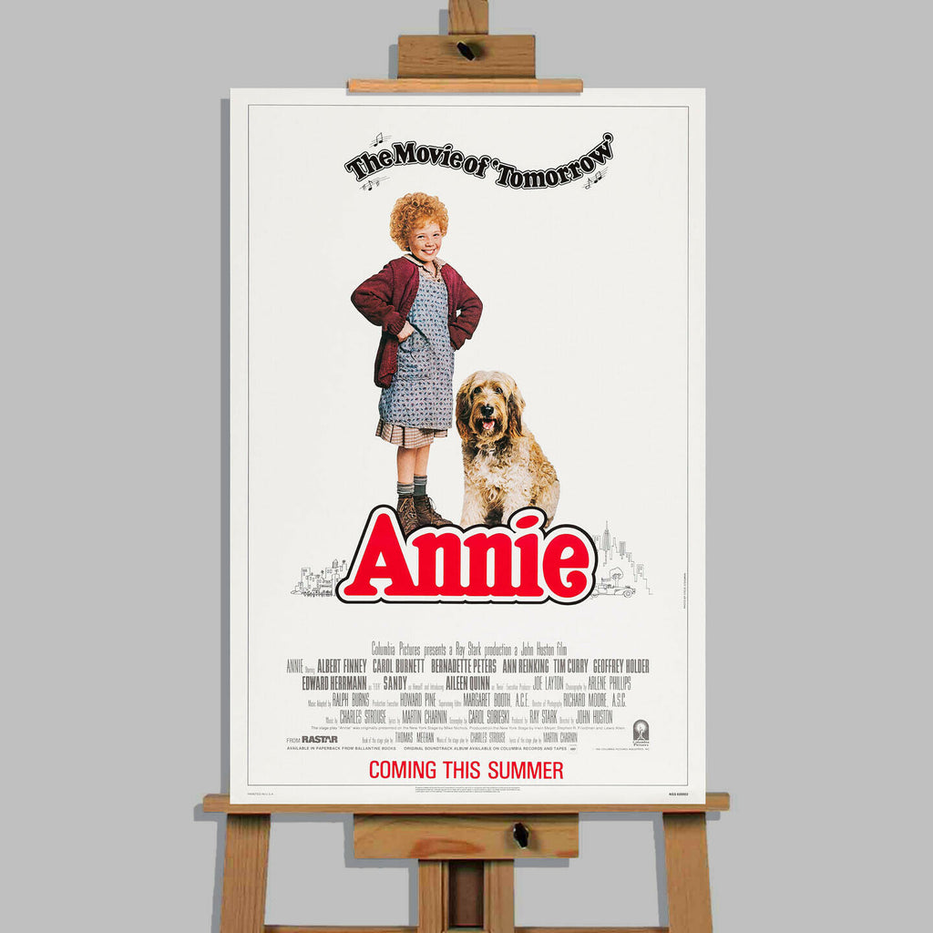 Annie Movie Stretched Canvas Wall Art Picture Print