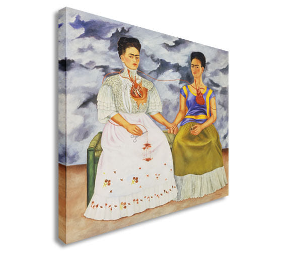 Memory, the Heart,Frida Female Artist Canvas Wall Art Picture Print