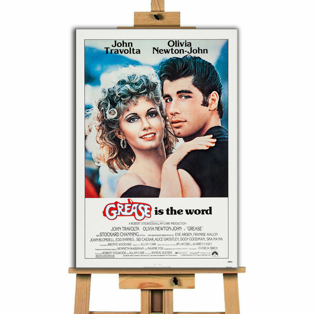 Grease Movie Canvas Print Wall Art