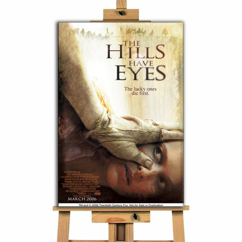 The Hills Have Eyes Movie Canvas Print Wall Art