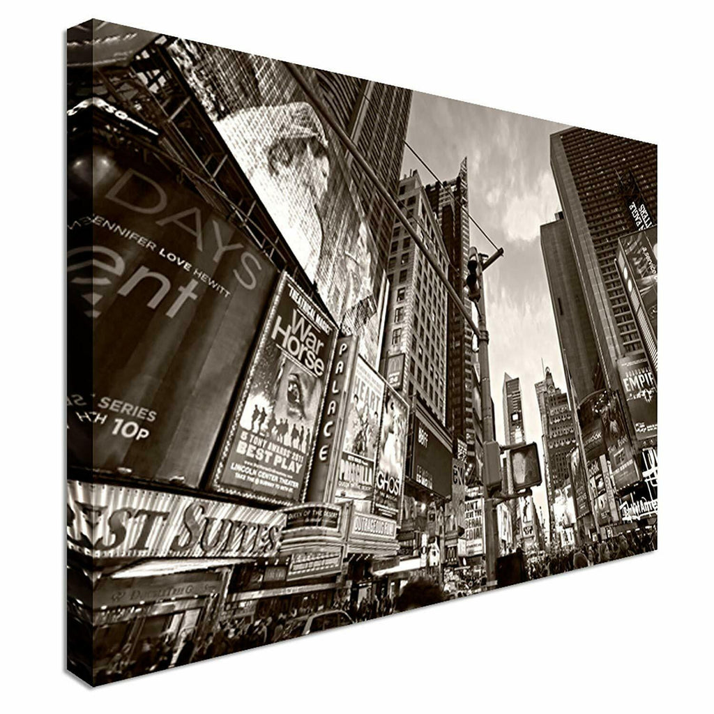 New York City Streets Canvas Wall Art Picture Print