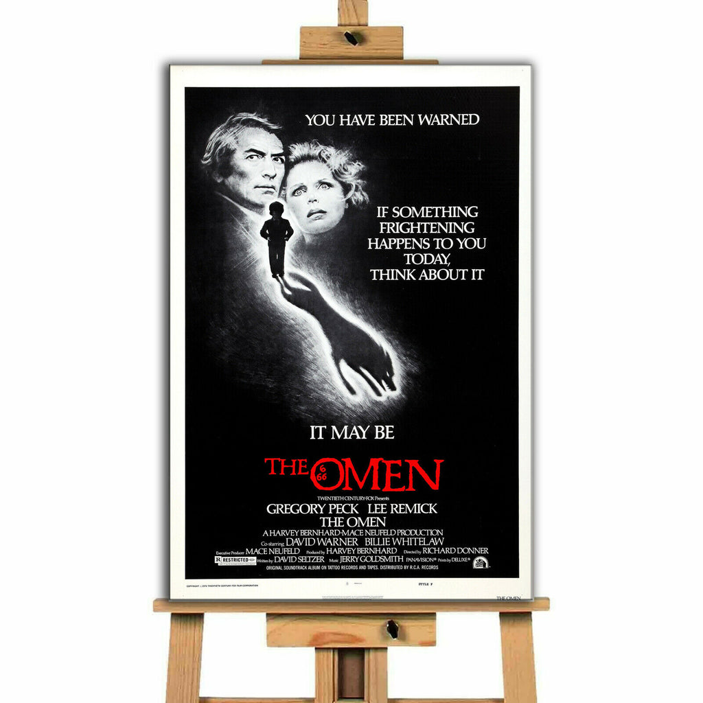 The Omen Movie Canvas Print Wall Art