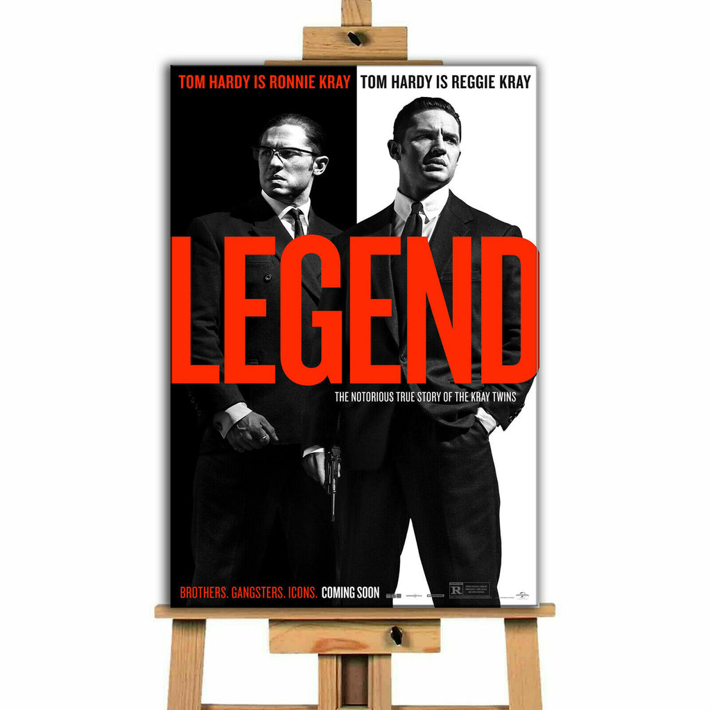Legend Krays  Movie Canvas Print Wall Art